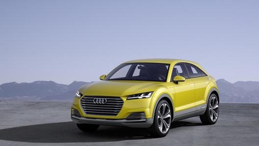 Audi придумала смешное название для своего нового кроссовера