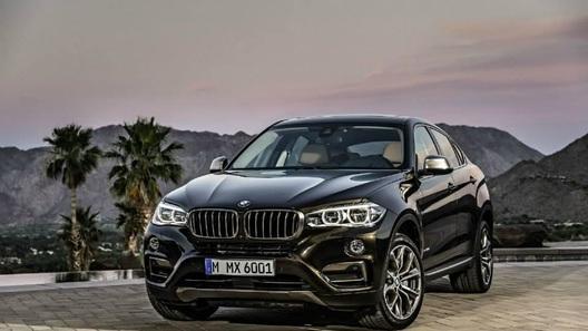 Первые фото нового BMW X6 появились в Сети