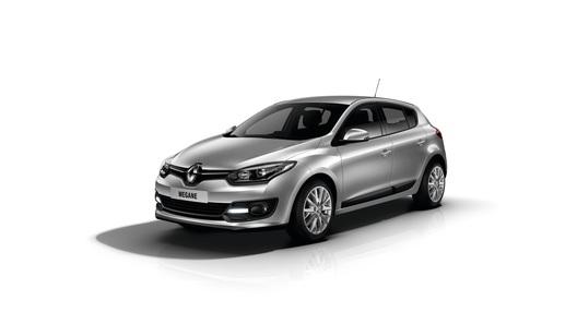 Renault объявила российские цены на обновленный Megane