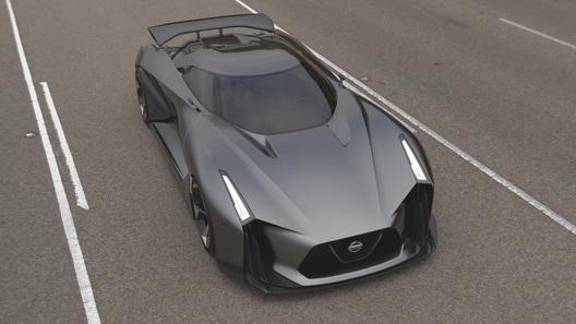 Nissan официально представил свой виртуальный суперкар