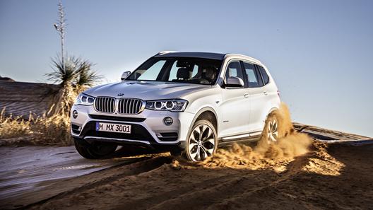 BMW назвал российские цены обновленного X3