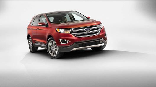 Ford представил кроссовер Edge нового поколения