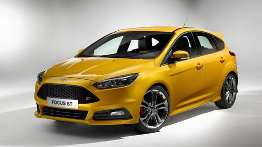 Обновленный Ford Focus ST впервые получил дизель