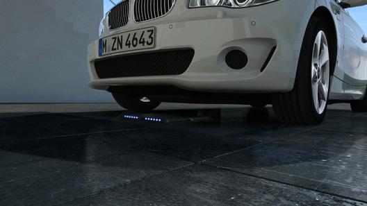 BMW разработал систему беспроводной зарядки