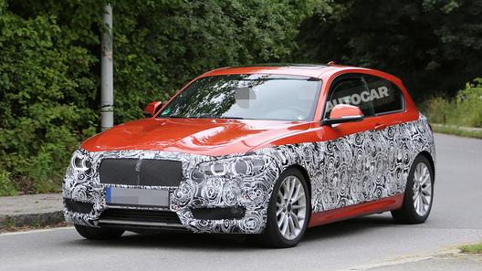 Обновленная BMW 1 серии появится в начале 2015 года