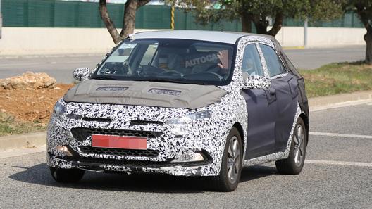 Hyundai обновит хэтчбек i20 уже осенью