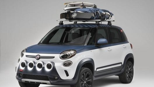 Fiat доработал компактвэн 500L под нужды серферов