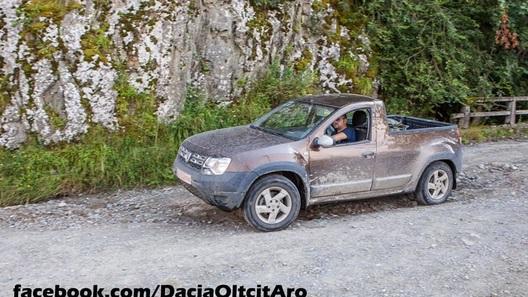 На Парижской выставке может дебютировать пикап Renault Duster