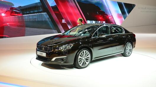Обновленный Peugeot 508 появится в продаже в конце сентября
