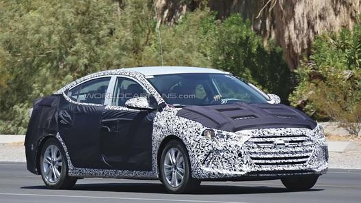 Hyundai Elantra получит внешность в стиле Genesis
