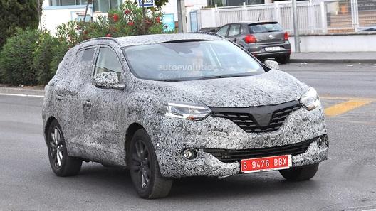 Второе поколение Renault Koleos вывели на тесты
