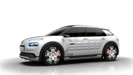 Citroen придумал концепт с расходом топлива 2 л на 100 км