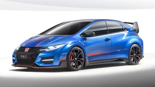 Honda продолжит кормить фанатов модели Civic Type R концептами