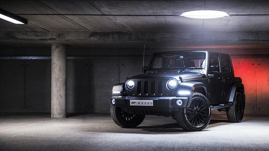 Ателье Khan представило новую программу доработки для Jeep Wrangler