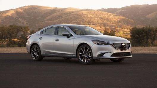 Mazda6 пережила первое обновление