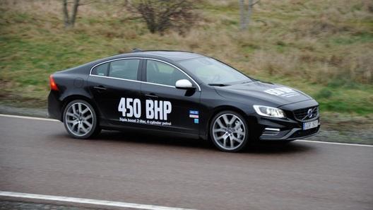 Volvo испытывает самый мощный двухлитровый двигатель