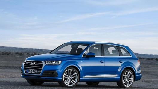 Появились первые фото Audi Q7 нового поколения