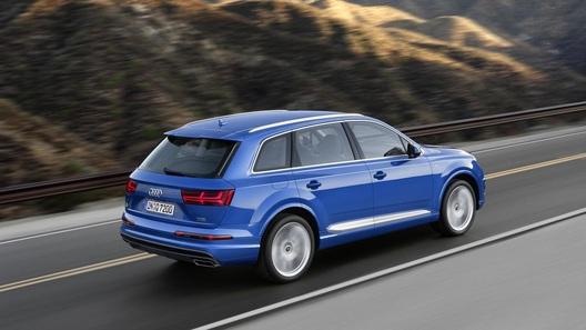 Audi представила свой новый большой кроссовер
