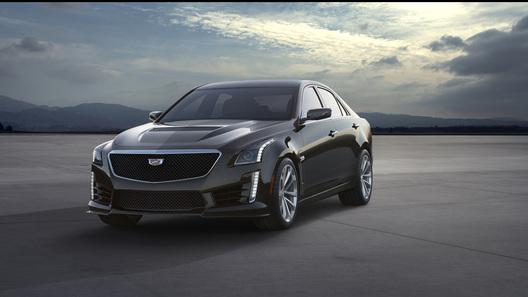 Cadillac представил 640-сильный седан CTS-V