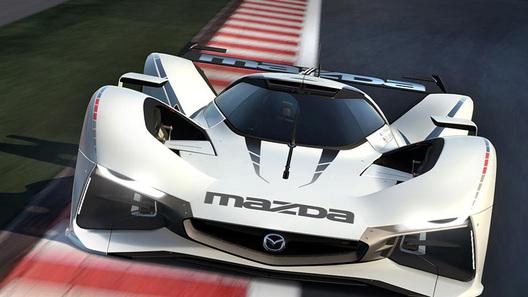Список прототипов для компьютерной игры пополнил суперкар Mazda