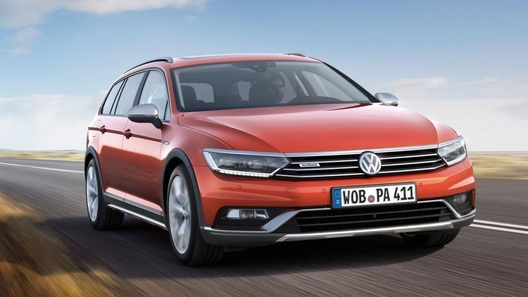 Volkswagen покажет в Женеве внедорожный Passat