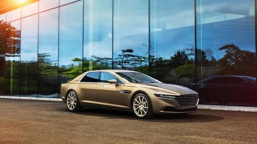 Роскошный седан Aston Martin отправят в Россию и Украину
