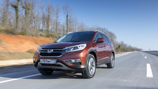 Тест-драйв обновленной Honda CR-V: первые впечатления