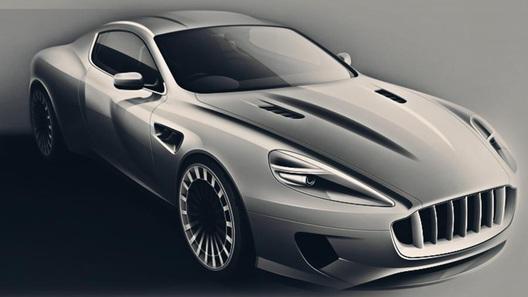 Aston Martin DB9 превратится в ретро-спорткар с саблезубым дизайном