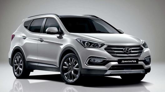 Hyundai представил обновленный Santa Fe