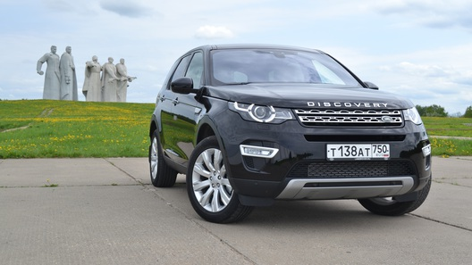 Тест Land Rover Discovery Sport: все что вы хотели знать о сменщике