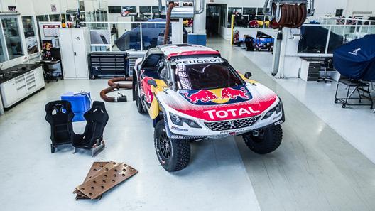 Peugeot показал раскраску своего дакаровского внедорожника