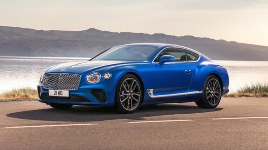 Названы рублевые цены на роскошное купе марки Bentley