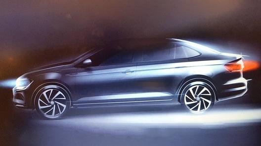 Новый седан Volkswagen Polo впервые