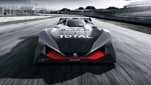 Компания Peugeot представила гоночный прототип для виртуальных гонок