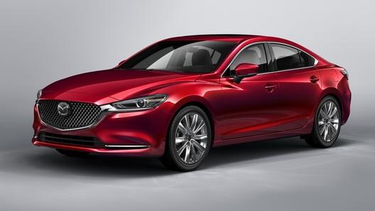 Рестайлинговая Mazda6: новое