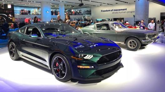 Ford показал специальный Mustang в честь фильма Bullitt