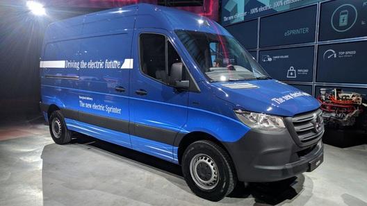 Объявлены характеристики первого электрического Mercedes-Benz Sprinter
