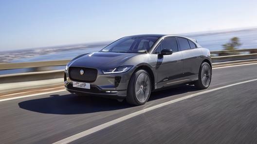 Электрический Jaguar I-Pace: старт продаж и цены в России