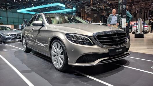 Обновленный Mercedes-Benz C-Class взял технологии у