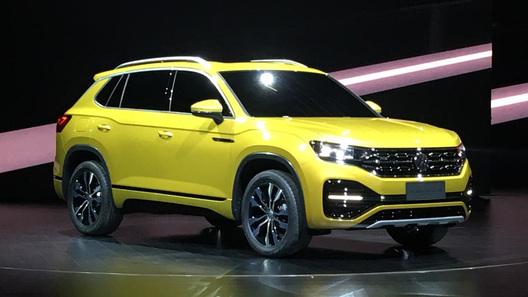 Volkswagen рассекретил еще три новых кроссовера