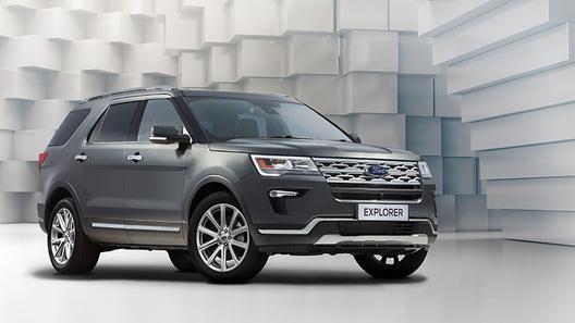 В России начали продавать обновленный Ford Explorer