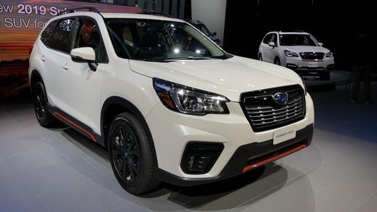 В США представили новое поколение Subaru Forester
