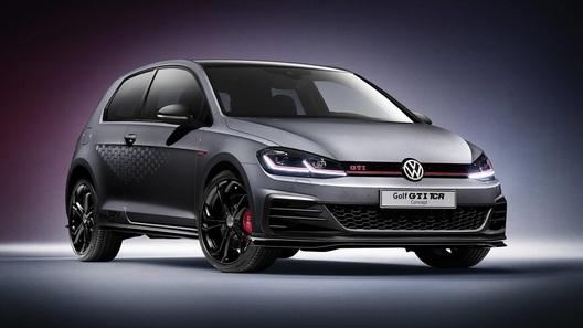 Volkswagen представил самую быструю версию Golf GTI