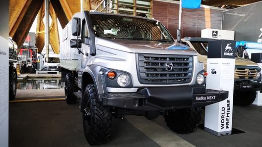Садко-NEXT: наследник легендарного вездехода ГАЗ-66 встанет на конвейер