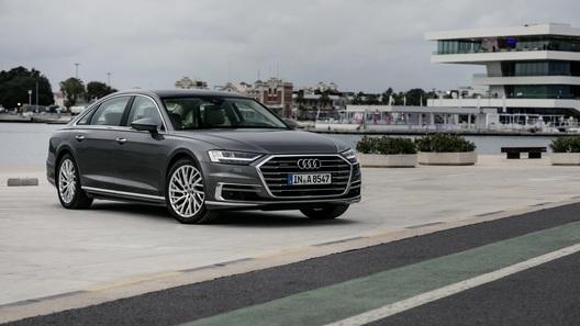 Audi открыла прием российcких заказов на самую мощную А8