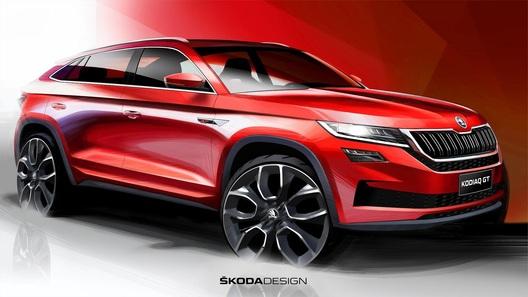 Skoda Kodiaq в кузове кросс-купе: официальные изображения