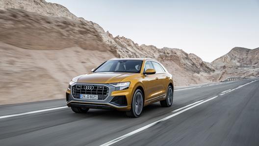 Audi назвала российские цены и комплектации кросс-купе Q8