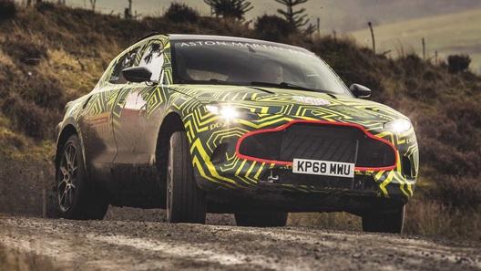 Кроссовер Aston Martin DBX уже можно заказать в России