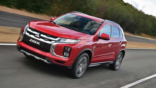 Обновленный Mitsubishi ASX уже поступил в продажу