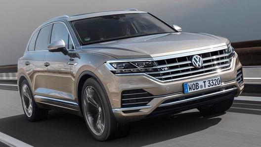 Volkswagen Touareg получил самый мощный дизель в своей истории